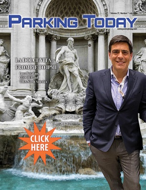 Current issue of Parking Today -